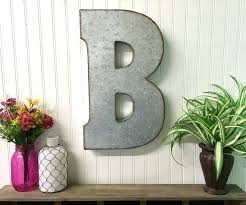 metal letters wall decor wall metal letter galvanized large metal letters metal letters letter m large letter m galvanized