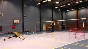 backyard volleyball setter drill youtube