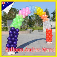 Wedding Arches Ebay Portable Balloon Arches Stand Clips Pole Kit Frames Wedding Party