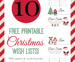 christmas wish list templates billing formats minutes of meeting