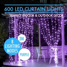 halloween icicle lights 8 channel led shining curtain light rgb tri color 5050 smd 4h x 8w