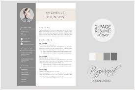 best modern resume templates modern cv cover letter by pappermint http textycafe com