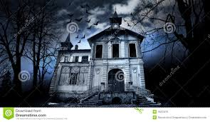 spooky house clipart haunted house royalty free stock image image 18221876