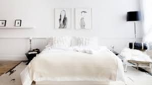 chambre a coucher blanche décor blanc idées de décoration en blanc