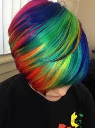 rainbow color hair ideas best rainbow short hair style ideas hair color hairstyle