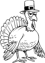 thanksgiving turkey coloring