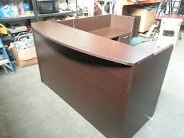 Commercial Reception Desks by Cool L Shaped Reception Desk Thediapercake Home Trend