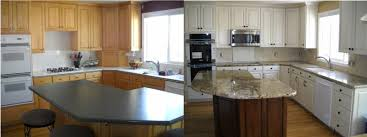 Kitchen Cabinets Before And After Refinish Kitchen Cabinets Before And After Kitchen