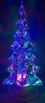 10 inch light up acrylic swirling tree ebay
