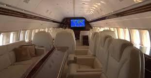 inside trump force one donald trump u0027s private boeing 757 pursuitist