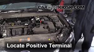 ford fusion battery how to jumpstart a 2013 2016 ford fusion 2014 ford fusion se 2 5