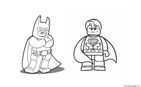 lego superman coloring pages disegni da colorare lego dc comics
