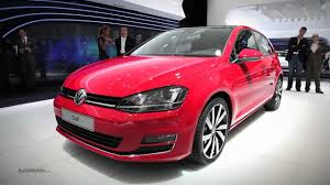 new 2014 volkswagen golf 2012 paris motor show youtube