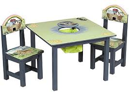 guidecraft childrens table and chairs noah s ark kids table chairs set guidecraft baby kids furniture