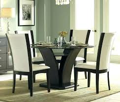 black round dining table set black round dining table and chairs daisy espresso glass round