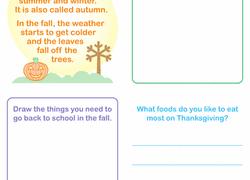 fall worksheets u0026 free printables education com