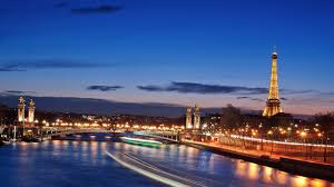beautiful paris eiffel tower night view sky simply wallpaper