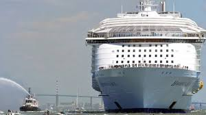 Largest Cruise Ship Keeping Busy On The World U0027s Largest Cruise Ship Bbc News