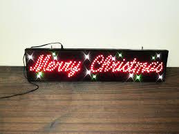 led merry christmas light sign merry christmas led sign twisterbids