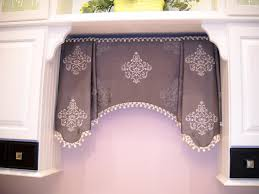 our helene valance in a gorgeous gray medallion fabric this one