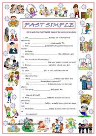 106 best past simple images on pinterest teaching english