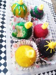 ornament cake balls with diy edible glitters 7 steps with