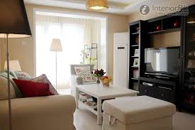 glamorous apartment living room with tv contemporary best idea