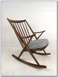 mid century rocking chair ebay chairs home decorating ideas