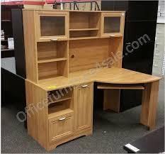 Magellan Corner Desk With Hutch Scratch Dent Magellan Outlet Collection Corner Desk 30 H X 59