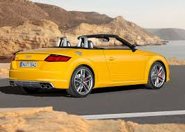 lexus yellow convertible audi tts roadster 2015 review by car magazine