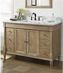 Rustic Bathroom Cabinets Vanities - rustic chic 48 vanity weathered oak rustic pine bathroom vanity