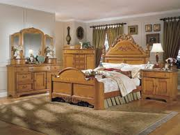 antique oak bed with high headboard bedroom furniture victorian