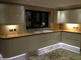 Led Kitchen Cabinet Downlights Beautiful Led Lights Kitchen Cabinets Innovafuer