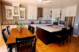 Norcraft Kitchen Cabinets Dining U0026 Kitchen Your Kitchen Looks So Trendy And Casual With
