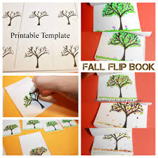 fall tree flip book u2013 the pinterested parent