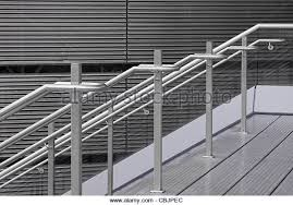 Contemporary Handrail Detail Contemporary Metal Handrail Stock Photos U0026 Detail