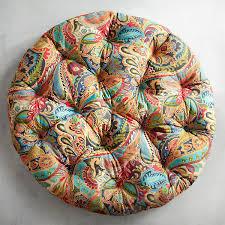 Papasan Cushion Cover Pattern by Papasan Cushion In Vibrant Paisley Papasan Cushion Paisley And