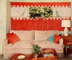 Retro Kitchen Curtains 1950s by 34 Best Curtain Ideas Images On Pinterest Curtain Ideas