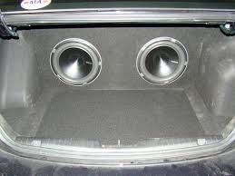 nissan frontier subwoofer box custom fitting car and truck subwoofer boxes