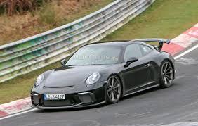porsche gt3 gray porsche 911 gt3 facelift sheds camouflage for nurburgring testing