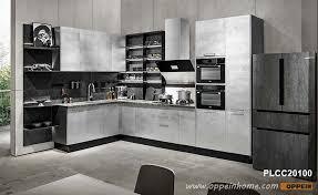 modern grey kitchen cabinets glossy modern gray kitchen cabinets oppein