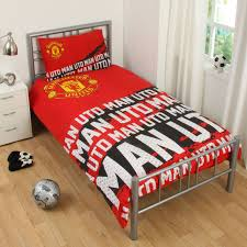 Manchester United Bed Linen - manchester united double bed sheets bedding queen