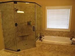 bathroom minimalist design of small corner shower as your