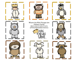 where the wild things are pattern cards wild 9 pattern cards jpg
