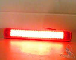 high output led lights admore lighting high output led large light bar with running brake