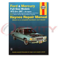 ford ltd haynes repair manual landau country squire crown victoria