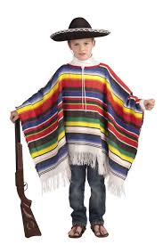 Halloween Costumes Boy Kids Mexican Poncho Child Costume Diy Costumes Children