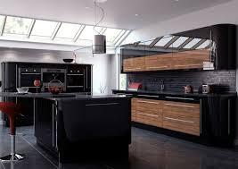 cuisine noir mat et bois emejing cuisine noir mat et bois images ansomone us ansomone us