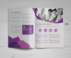 one sided brochure template pdf brochure template fourthwall co