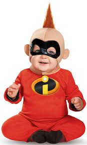 incredibles halloween costumes family disney u0027s the incredibles baby jack jack deluxe costume for babies